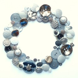 Boutons couronne argent 1