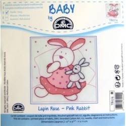 Kit DMC TB074. Lapin rose