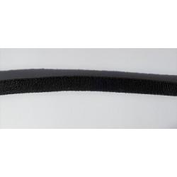 Elastique noir tubulaire 0.5 cm
