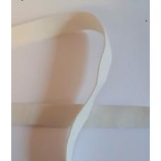 Elastique souple blanc 15 mm
