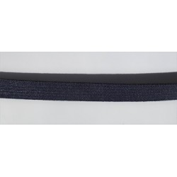 Elastique bleu marine 1 cm