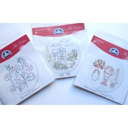 3 kits enfants en broderie traditionnelle