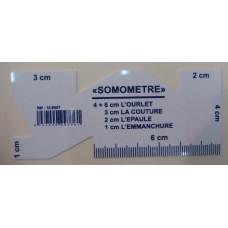 Somomètre mesure ourlet