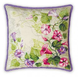 1347. Pastel Bindweed Cushion