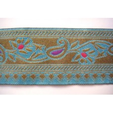 Turquoise et or